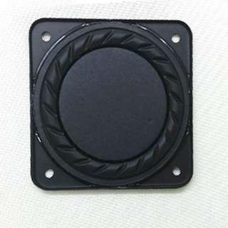 """2pcs 3"""" inch Passive Radiator Assisted Bass Auxiliary Bass Speaker 79 * 79mm"""