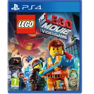 The Lego Movie Video game (PS4)($30)
