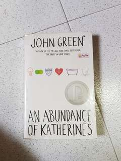 🚚 An Abundance of Katherines by John Green