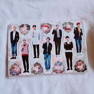 BTS Mini Standee Set