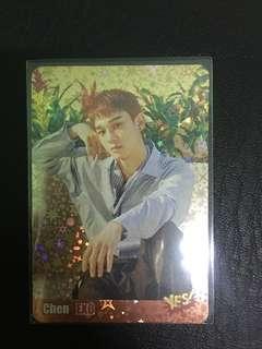 EXO Chen閃卡_#3566(S)
