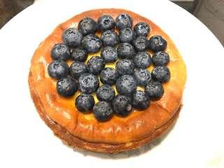 焗藍莓芝士蛋糕