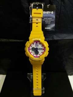 """BA-120-9B卡西歐品牌手錶""""Casio""""""""Baby-G""""日本機芯一年保養"""