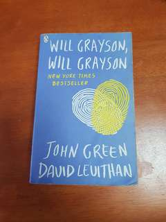Will Grayson Will Grayson by John Green and David Levithan