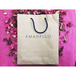 Amanpulo Paper Bag