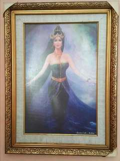 Lukisan Nyi Roro Kidul (Rare)