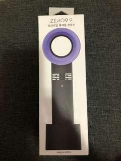全新黑色韓國Zero 9手提無葉風扇