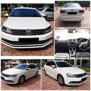 SAMBUNG BAYAR/CONTINUE LOAN  VW JETTA TSI 1.4 TURBO YEAR 2017 MONTHLY RM 1200 BALANCE 7 YEARS 10 MONTHS ROADTAX VALID TIPTOP CONDITION  DP KLIK wasap.my/60133524312/jetta