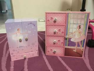 Jewellery Box Ballet design