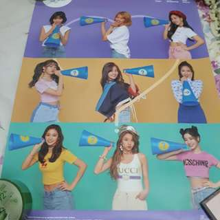Poster Twice What is Love (Purple Ver)