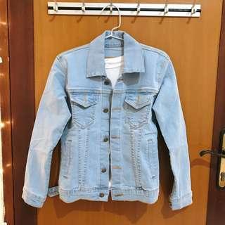 (NEW) Denim Jacket Jeans — light blue