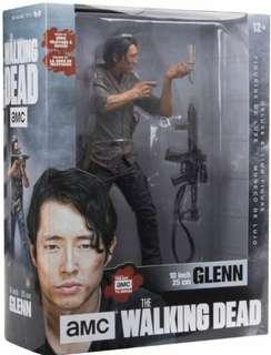 Mcfarlane Toys AMC The Walking Dead 10 Inch Glenn TWD New