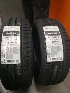 195 55 15 MARSHAL TYRE