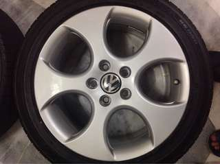 Volkswagen VW Golf [7.5 x 17] Original Denver Alloy Rims Made In Poland