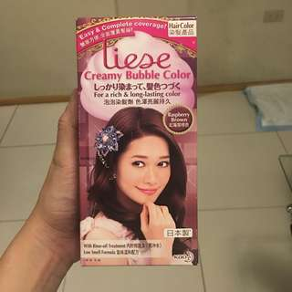 Liese Creamy Bubble Hair Color (Raspberry Brown)