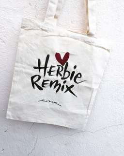 tote bag | calligraphy