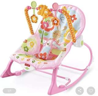 Fisher-price Infant to toddler rocker (pink)