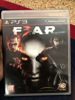FEAR PS3 Game