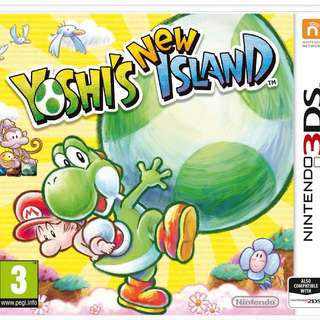 Nintendo 3DS Game Yoshi's New Island (Mint Condition)