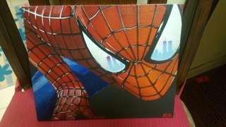 Spiderman painting