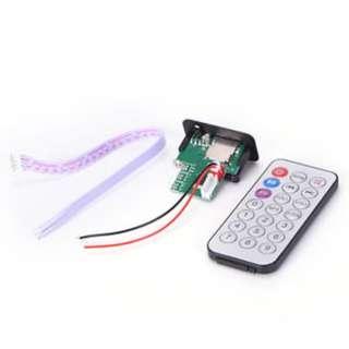 5-12V MP3 Decoder Board Module U Disk TF Card USB Amplifier Speaker Audio Board
