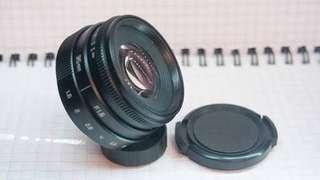 lensa fujian 35mm F1.6 CCTV lens fujifilm X FX
