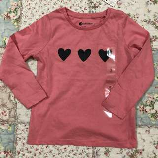 Long sleeve for little girl