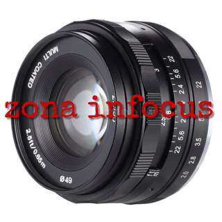 lensa meike MK 50mm f2.0 manual focus for sony dan fujifilm E MOUNT