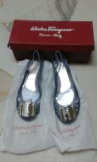 Ferragamo Bermuda Jelly Shoes