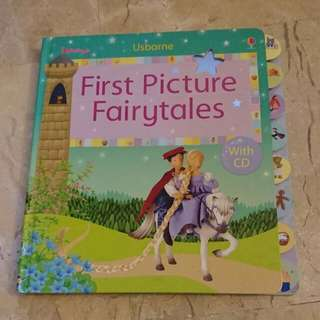 Usborne First Picture Fairytales Comes With CD