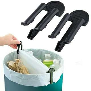 10pcs/lot Practical Trash Can Clamp Plastic Garbage Bag Clip Fixed Waste Bin Bag Holder Rubbish Clip