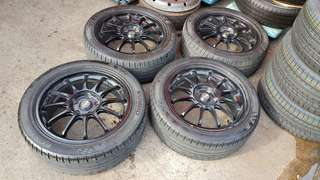 SSR Type F (R) w Kumho PS31 Tyres