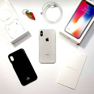iPhone X Factory Unlocked Complete package