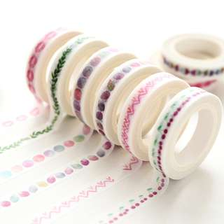 Washi Tapes 8mm
