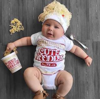 🍜Cup noodles 可愛BB衫🍜