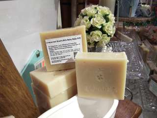 Unscented Goat's Milk Baby Soap