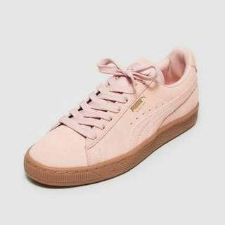 正貨日版puma 粉紅色波鞋個底超舒服 適合平時著37女仔 靚過nike flyknit pink