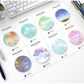 Galaxy Round POST-IT Notes