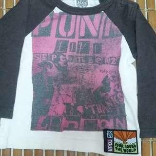 Tshirt 3q punk for baby
