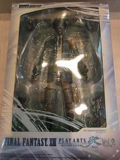 Final fantasy XIII Sazh Katzroy play arts kai action figure
