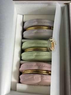 香港作家QueenEco pastel colour macaron 馬卡龍盒 laduree like