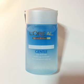 Loreal Gentle Lip and Eye make-up remover