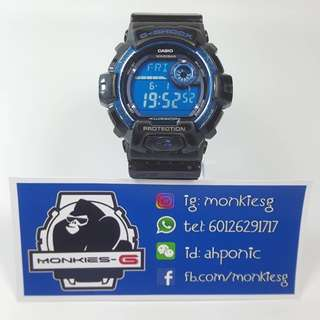 USED G-Shock G-8900A-1 (Belasahan A)