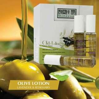 Minsyam Olive Oil Lotion Pack(Lavender & Rosemary) of 60ml x 6 Bottle