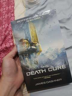 Novel the death cure (maze runner)