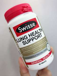 Swisse Lung Health Support 天然草本清肺片90粒