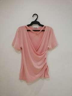 Overlap Top (Pink)