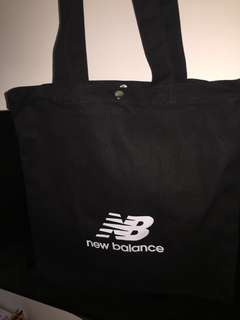 New balance tote bag