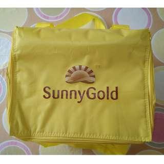 Family Size Cooler Bag Sunny Gold Large Size Cooler Bag