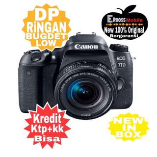 Canon EOS 77D Kit EF-S 18-55mm IS STM Resmi-Kredit Dp call/wa;081905288895